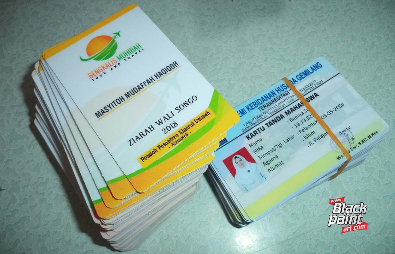 Blackpaint Art merupakan salah satu tempat cetak kartu nama di Pekanbaru.