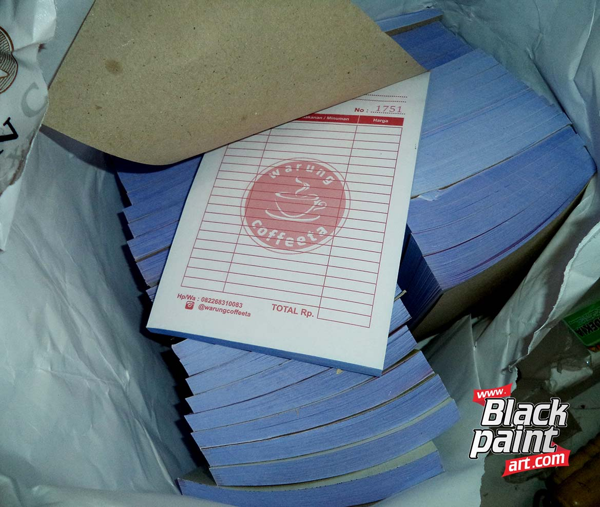 Bagi anda yang ingin cetak faktur di Pekanbaru, anda bisa cetak di Blackpaint Art.