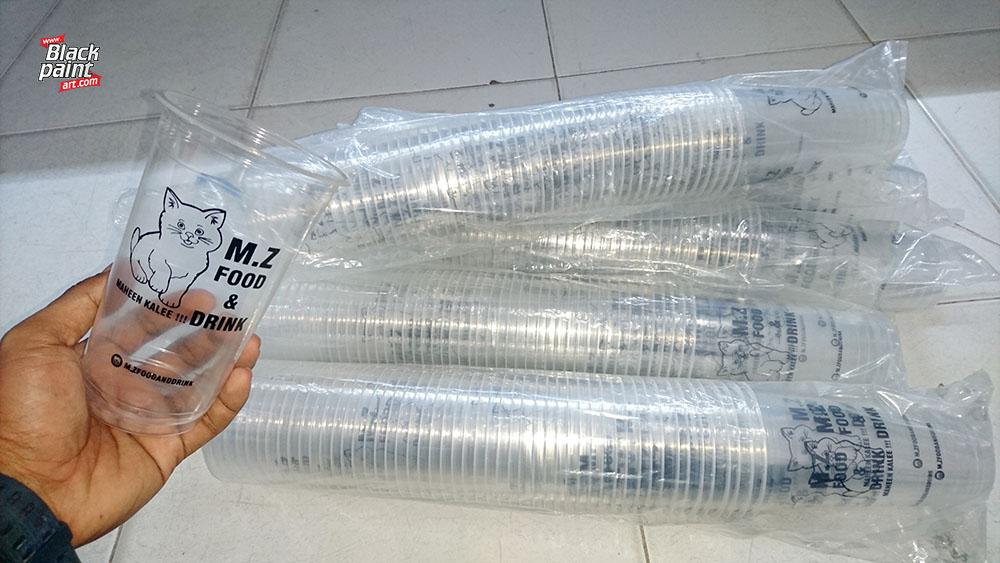Ada banyak tempat sablon CUP / Gelas Plastik di Pekanbaru, salah satunya adalah Blackpaint Art.